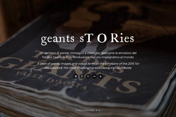 Geants sTORies